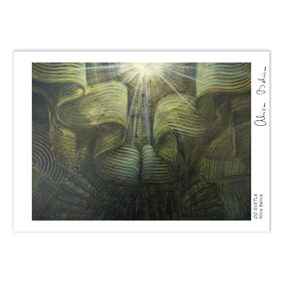 Art Print Za svetlobo – Alica Belica