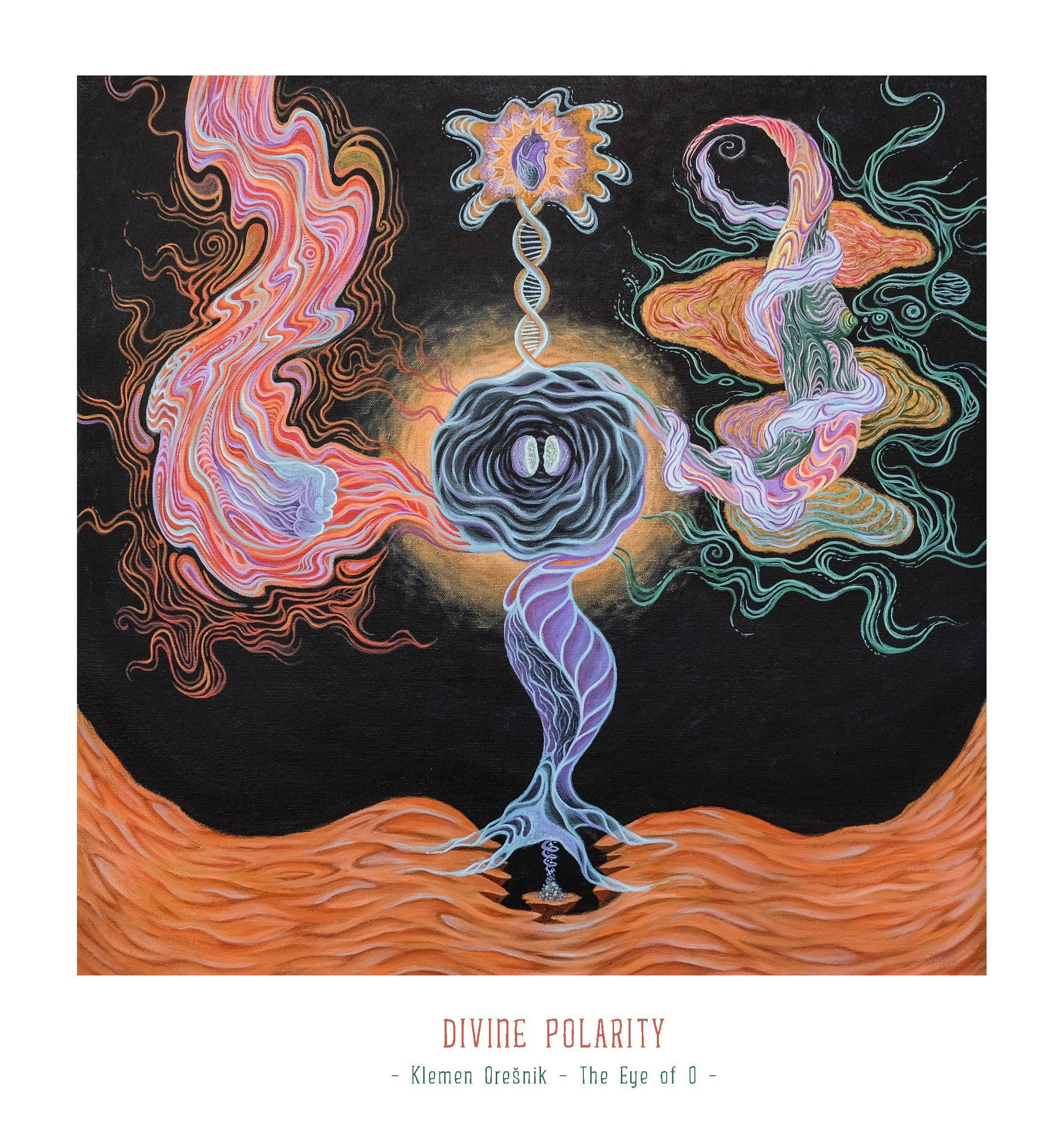 Art Print Divine Polarity – Klemen Orešnik