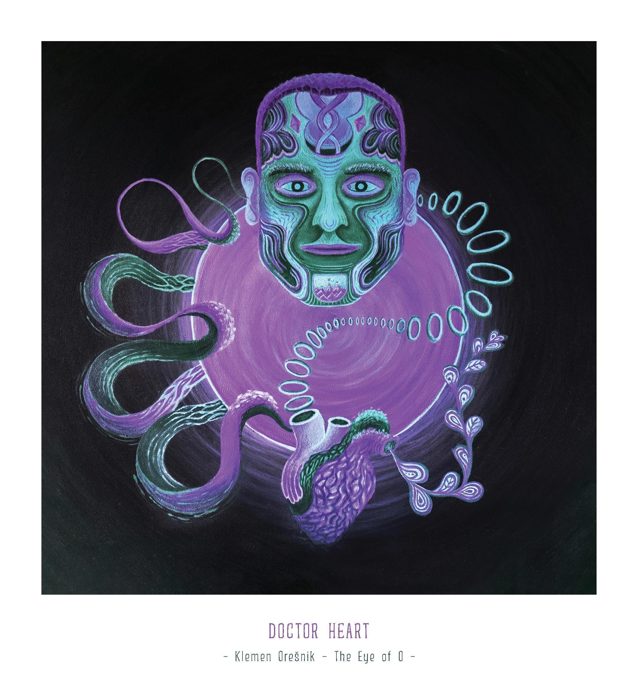 Art Print Doctor Heart – Klemen Orešnik