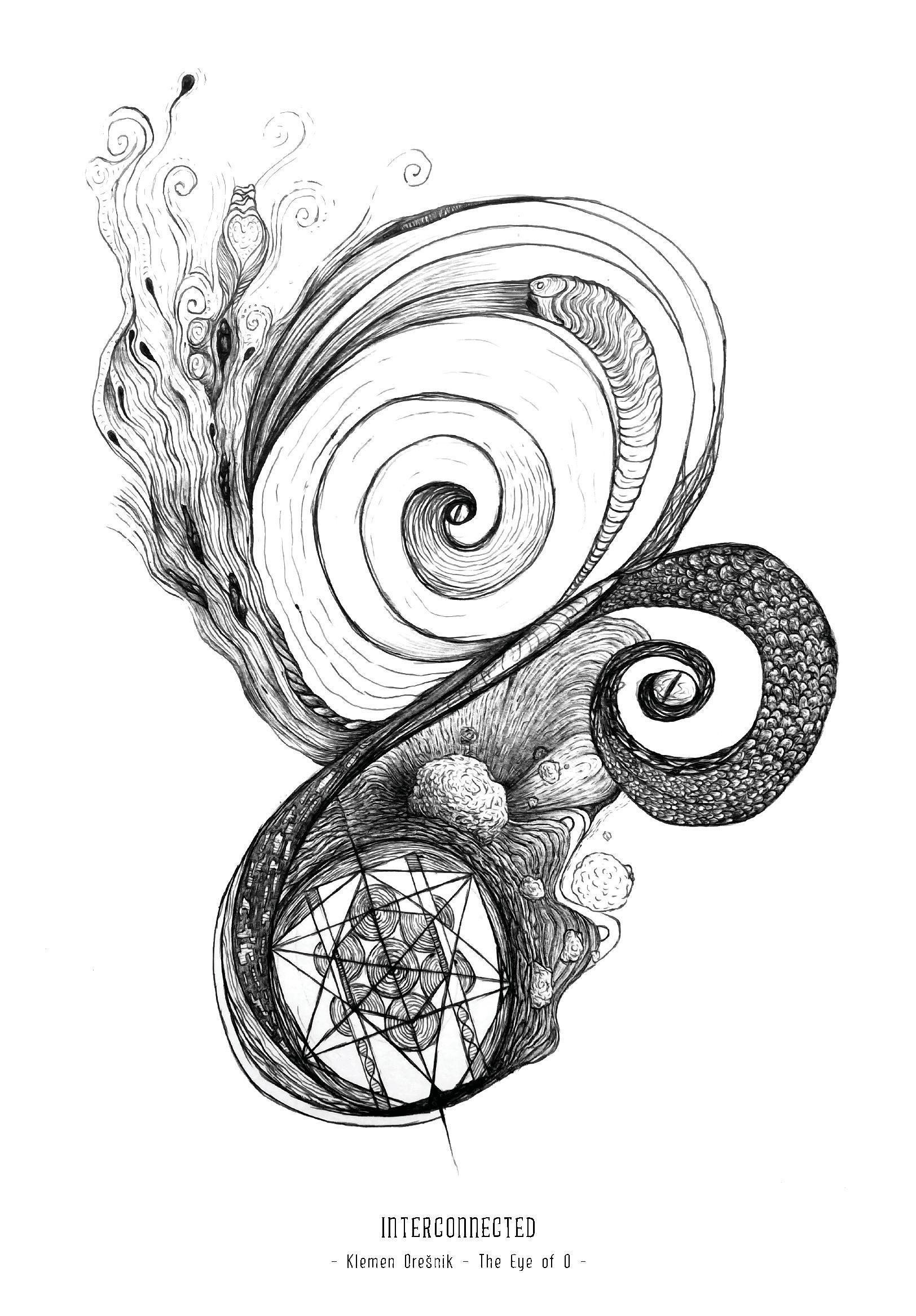 Art Print Interconnected – Klemen Orešnik