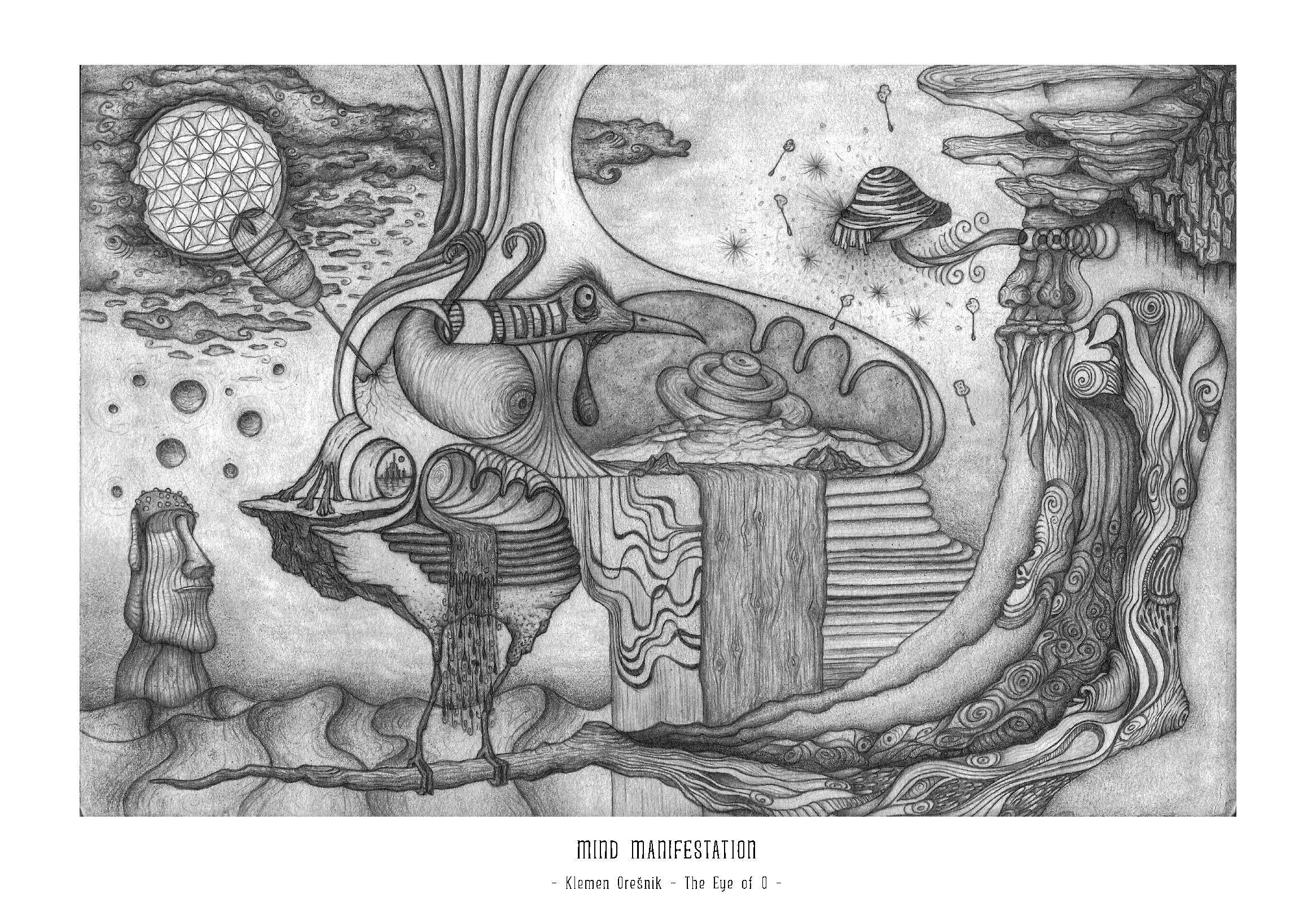 Art Print Mind Manifestation – Klemen Orešnik