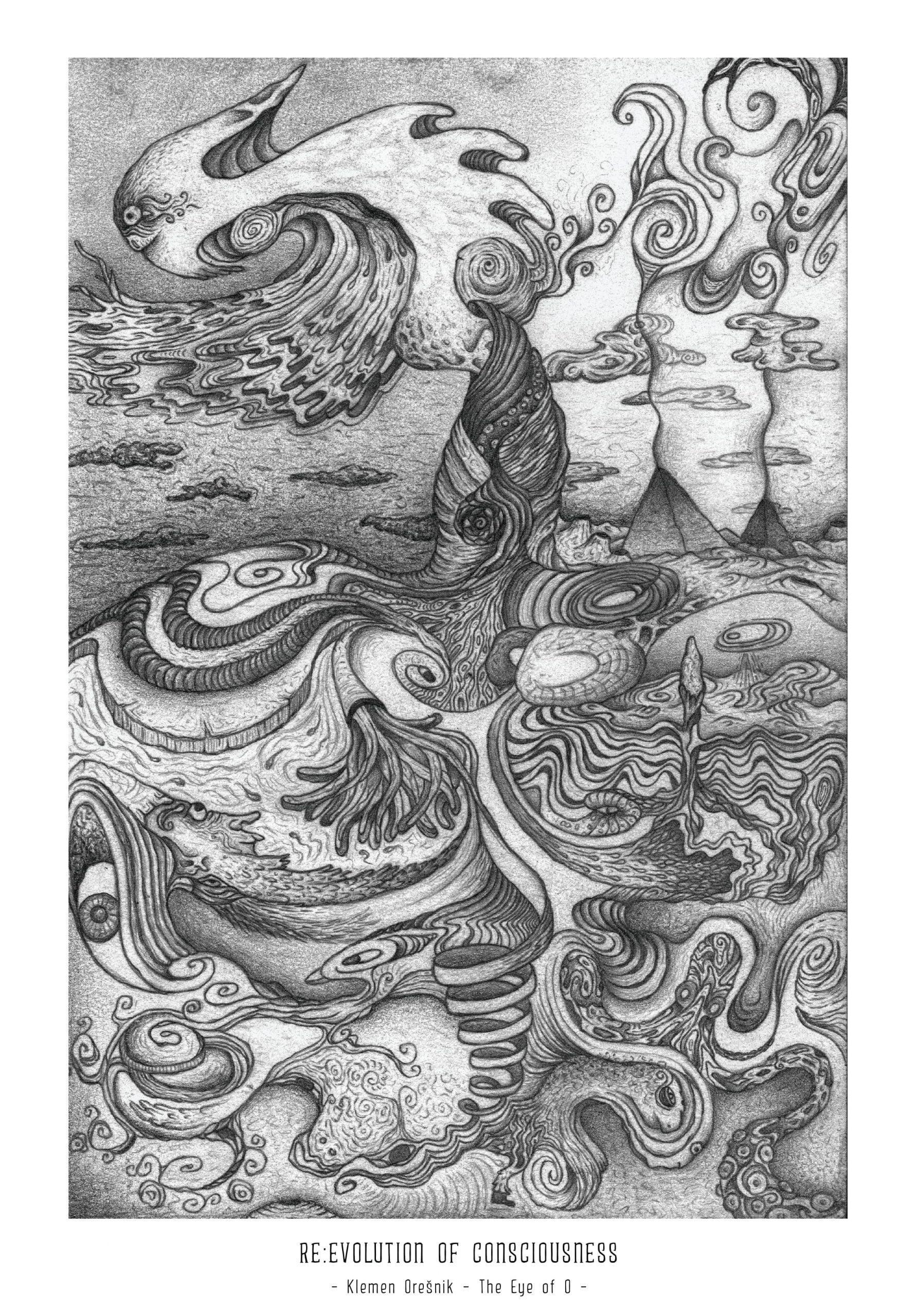 Art Print Revolution of Consciousness