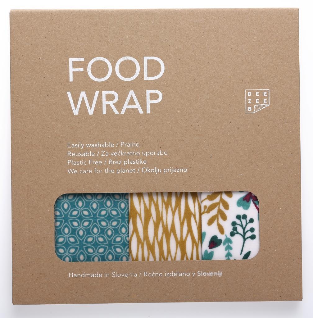 Food Wrap Beezeeb – mešani paket Harmonija