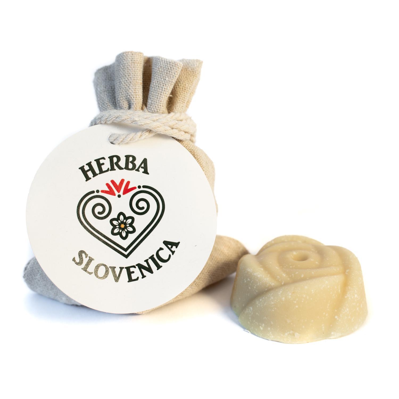 Herba Slovenica Eko kamilično milo z medom