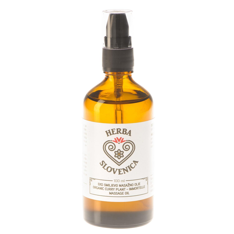 Herba Slovenica Eko smiljevo masažno olje