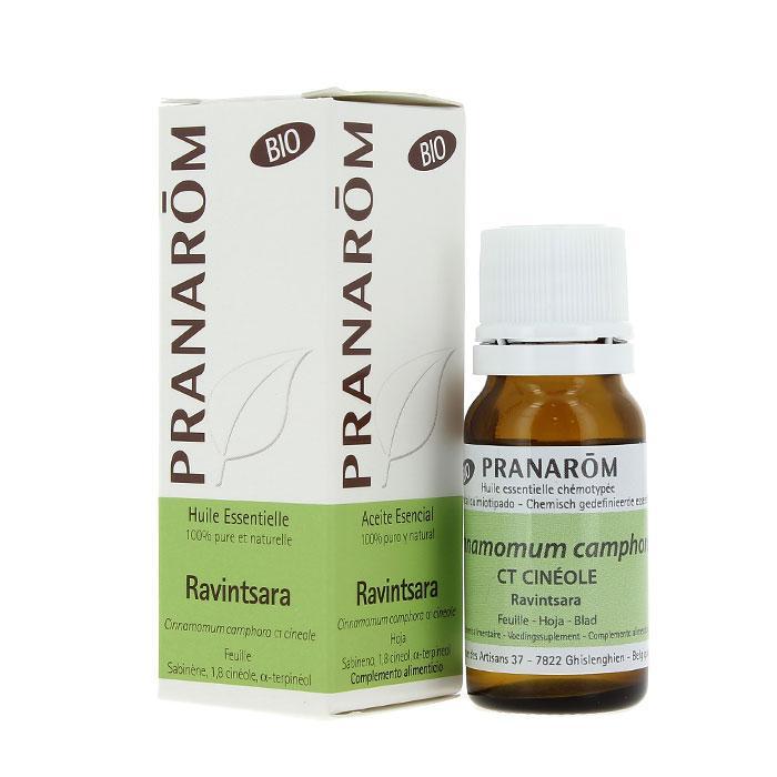 Pranarom – BIO Eterično olje Ravintsara (Cinnamomum camphora), 10 mL