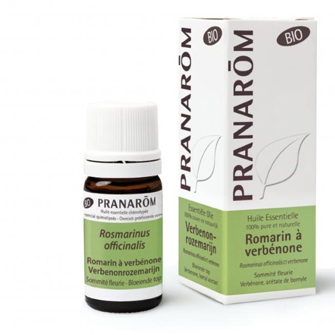 Pranarom – BIO Eterično olje Rožmarin verbenon (Rosmarinus offic. CT verbenone),  5 mL