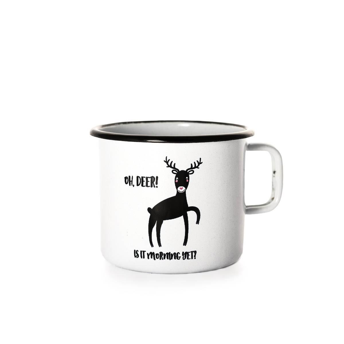 Emajlirana posoda Oh Deer