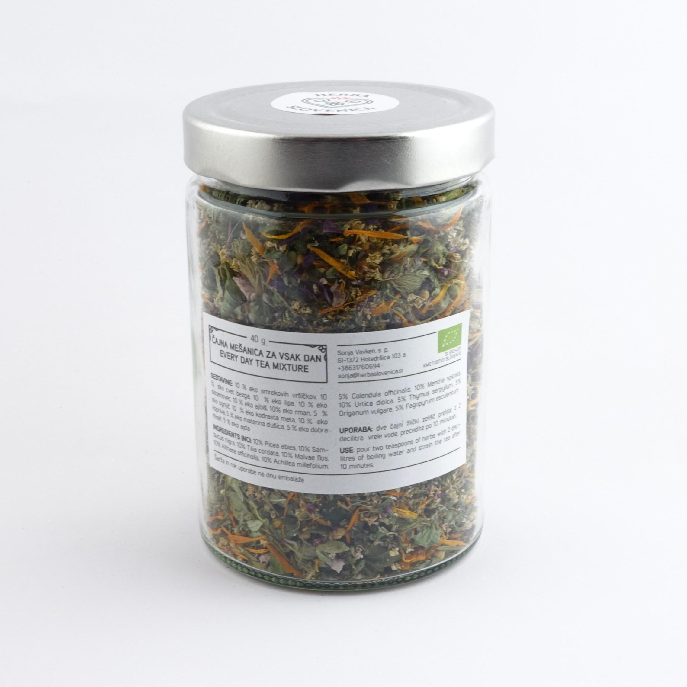 Herba Slovenica Čajna mešanica Za vsak dan