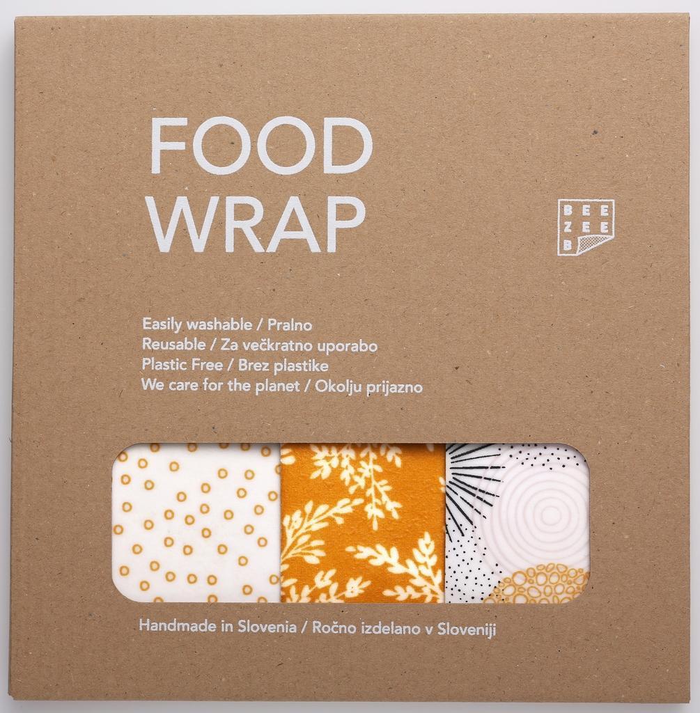 Food Wrap Beezeeb – mešani paket Sonce